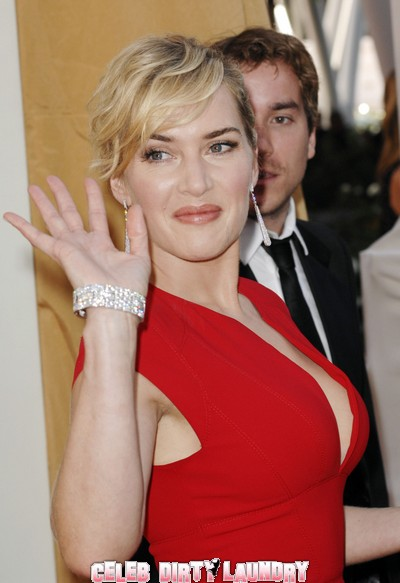 Bare Boobied Kate Winslet Fleeing Fire Makes A Bra Stop