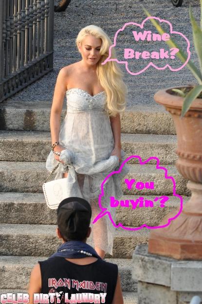 Pics From Lindsay Lohan's Philipp Plein Photo Shoot!