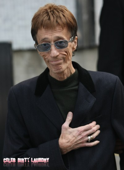 Liver Cancer Victim Robin Gibb 'Is Not Good'