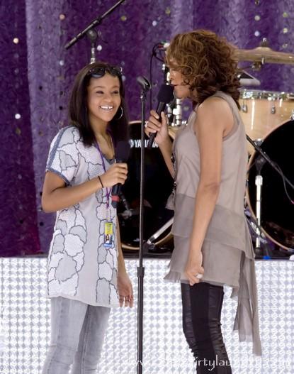 Whitney Houston Drags Daughter Bobbi Kristina To Rehab