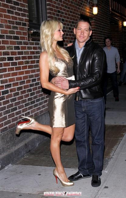 Paris Hilton & Cy Waits On The Rocks (Again)