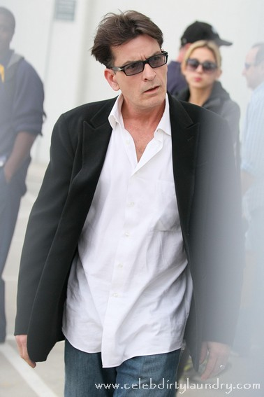 Charlie Sheen Won't Be Seeing His Twin Boys On Their Birthday!