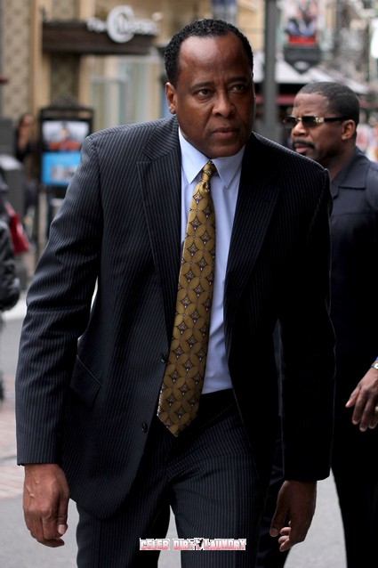 Conrad Murray Attempts To Shield Jurors From Media