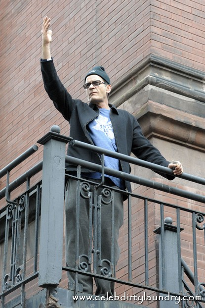 Charlie Sheen Faces Protest From 9/11 Conspiracy Group