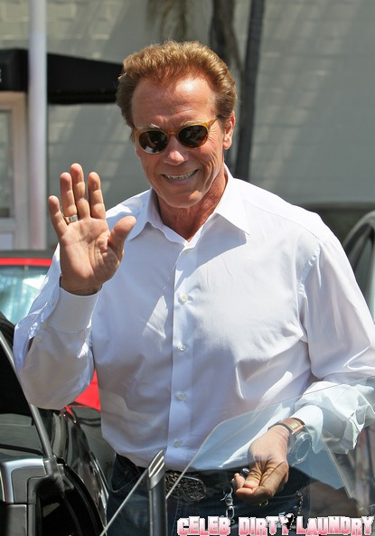 Arnold Schwarzenegger Called 'Long Hands' By Mother Of His 'Other' Child