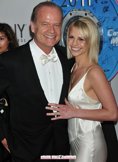 Is There Trouble In Paradise For Kelsey Grammer and New Wife Kayte Walsh