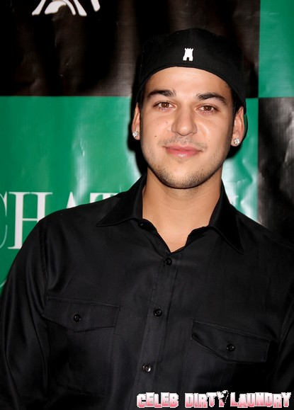 Rob Kardashian Signs On For 'Dancing With The Stars'