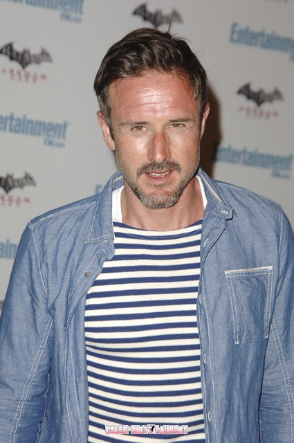 David Arquette Debuts His New Girlfriend Christina McLarty At Comic-Con