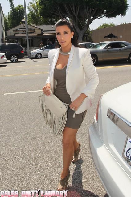 Kim Kardashian Already Bossing Kris Humphries Around As Couple Fights