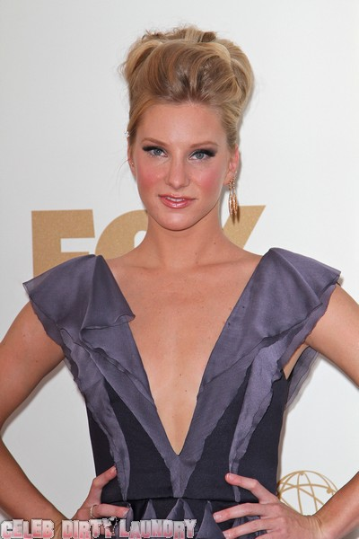 Heather Morris Used To Kiss Girls To Get Attention From Guys