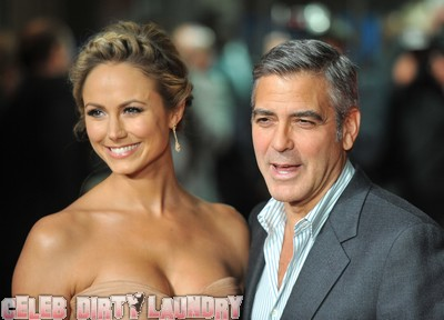 George Clooney Is Smitten With Stacy Keibler