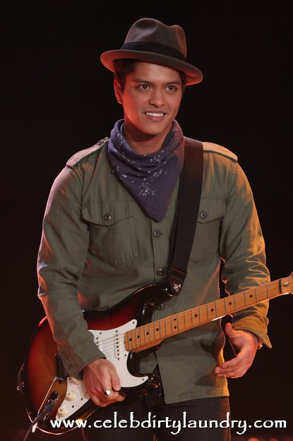 Bruno Mars' Lazy week Is About To Get A Little More Busy