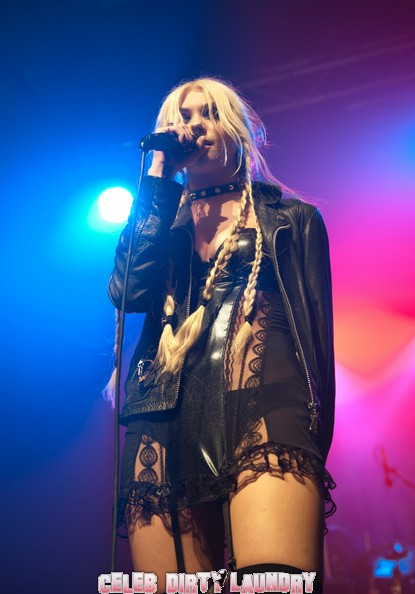 Taylor Momsen Doesn't Have Time To Shower