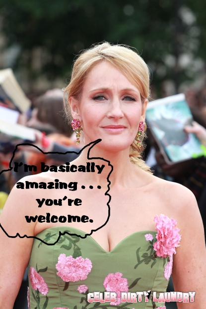 J.K. Rowling Says Goodbye To Her Lit Agent