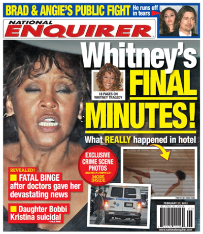 What Happened During Whitney Houston's Final Minutes? (Photo)