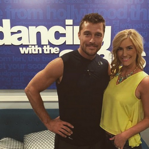 Chris Soules Cheating With DWTS Witney Carson On Whitney Bischoff  - Bachelor Embarassess Fiancee?