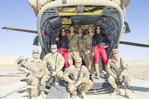 WWE 'Tribute To The Troops' Holiday Special Featuring Florida Georgia Line, The Kardashians, And More To Air On NBC And USA (PHOTOS)