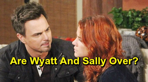 The Bold and the Beautiful Spoilers: Wyatt Reevaluates Sally Relationship - Just In Time For Flo To Steal Him Away