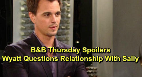 The Bold and the Beautiful Spoilers: Thursday, December 12 - Hope & Steffy Go All In For The Fashion Showdown - Wyatt Re-evaluates Relationship With Sally