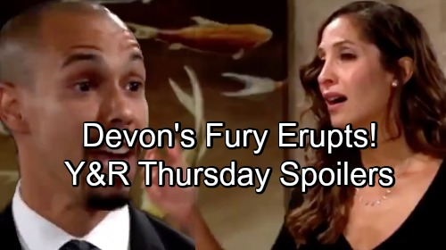 The Young and the Restless Spoilers: Thursday, August 2 – Victor's Big Surprise – Nick's on a Mission – Devon's Fury Erupts