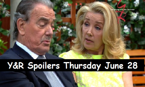 The Young and the Restless Spoilers: Thursday, June 28 – Victor's Public Outburst Brings Bombshells – Billy Risks Everything for Summer