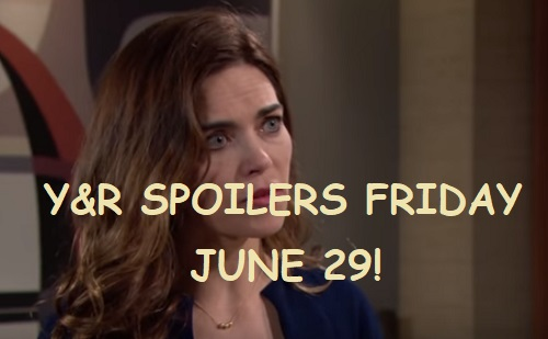 The Young and the Restless Spoilers: Friday, June 29 – J.T. Shocker Turns Victoria's World Upside Down – Nick and Sharon's Power Play
