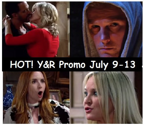 The Young and the Restless Spoilers: Shocking Promo Week of July 9-13 – Victor Ready for J.T. War – Ashley and Neil's Steamy Kiss