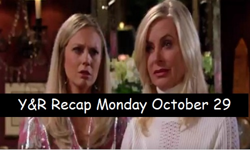 The Young and the Restless Spoilers: Monday, October 29 – Ashley Jets Off to Start a New Company – Sharon Puts Walls Up with Rey