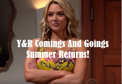 The Young and the Restless Spoilers: Comings and Goings – Comebacks Brings Chaos – Fun Side Gig for Two Y&R Stars