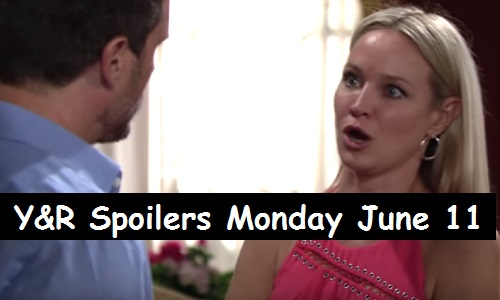 The Young and the Restless Spoilers: Monday, June 11 – Nick Suspicious of Sharon – Nikki Explodes – Billy Plays Peacemaker