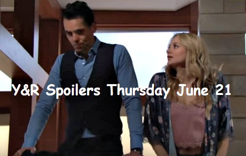 The Young and the Restless Spoilers: Thursday, June 21 – Billy Can't Resist Summer's Offer – Ashley Launches an Investigation