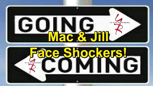 The Young and the Restless Spoilers: Comings and Goings – Mac Returns as J.T. Chaos Erupts – Jill's Comeback Brings a Dilemma