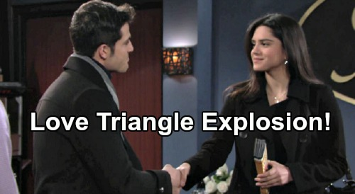The Young and the Restless Spoilers: Fen's Move Provokes Kyle's Fury – Lola Stuck in the Middle, Love Triangle Conflict Erupts