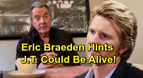 The Young and the Restless Spoilers: Eric Braeden Hints J.T.'s Alive – Victor's Framer and Cover-up Crew's Tormentor Exposed