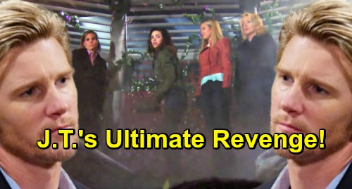 The Young and the Restless Spoilers: J.T. Torments Cover-up Crew – Ultimate Revenge Shocks Genoa City