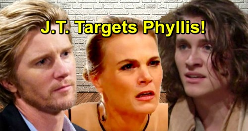 The Young and the Restless Spoilers: J.T.'s Alive, Back For Revenge – Targets Phyllis for Turning Reed Against Dad?