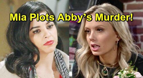 The Young and the Restless Spoilers: Unhinged Mia Plots Murder – Leads to Abby's Hospital Crisis?