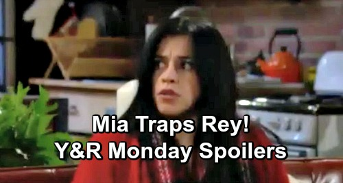 The Young and the Restless Spoilers: Monday, January 14 – Nick and Victor Work to Protect Nikki – Mia Traps Rey