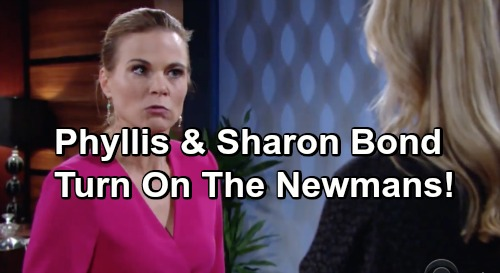 The Young and the Restless Spoilers: Cover-Up Crew Alliance Shatters - Sharon and Phyllis Turn On The Newmans