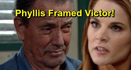 The Young and the Restless Spoilers: Nick Vows To Hunt Down Person Setting Up Victor - Phyllis Framed The Moustache?