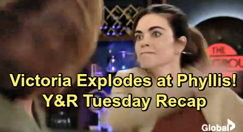 The Young and the Restless Spoilers: Tuesday, January 8 Update – Victoria Explodes at Phyllis – Devon's Decision Shocks Ana
