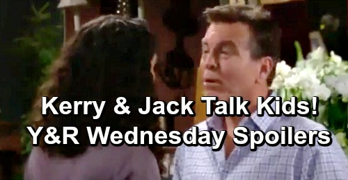 The Young and the Restless Spoilers: Wednesday, January 30 – Jack Decides With Kerry On Kids - Victoria Confides in Dad