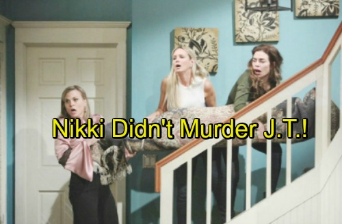 The Young and the Restless Spoilers: Stunning Twist Gets Nikki Off The Hook – J.T.'s Heart Issues Are True Cause of Death