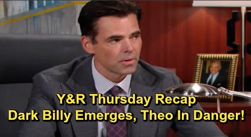 The Young and the Restless Spoilers: Thursday, November 7 Recap – Dark Billy Triggered, Insists Theo Is a Threat – Lola Offers Good Advice