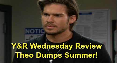 The Young and the Restless Spoilers: Wednesday, December 4 Review - Billy Feels Neglected By Victoria - Devon Steps Up For Elena - Theo Dumps Summer