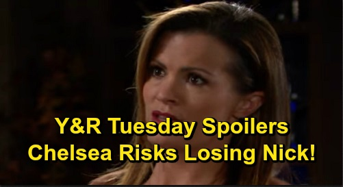 The Young and the Restless Spoilers: Tuesday, December 17 – Chelsea Risks Losing Nick – Abby Takes Charge with Chance – Victor's Confession
