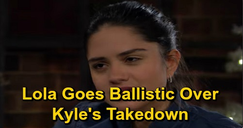 The Young and the Restless Spoilers: Lola Goes Ballistic Over Kyle's Cousin Takedown – Theo Gets Revenge by Seducing Kyle's Wife?