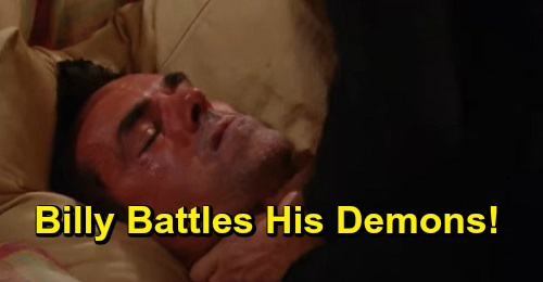 The Young and the Restless Spoilers: Tuesday, September 17 Review - Billy Fights His Inner Demons & Has A Major Breakthrough