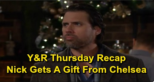 The Young and the Restless Spoilers: Thursday, December 19 Recap – Sharon Grills Connor About Lies, Warns Adam – Chelsea's Present for Nick
