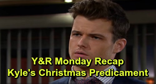 The Young and the Restless Spoilers: Monday, December 23 Recap – Kyle's Christmas Predicament – Summer's Birthday Celebration – Theo's Gift